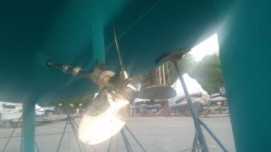 Shiney rebuilt prop!