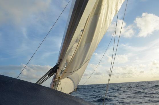 Final approach to Bermuda!