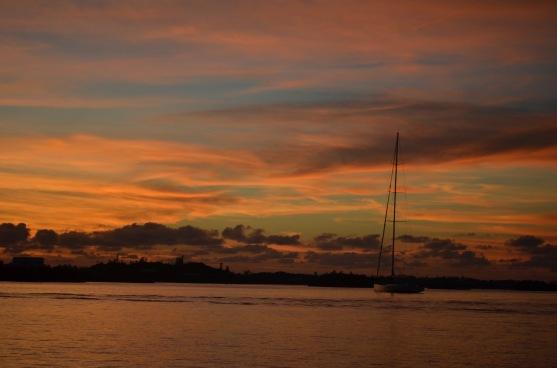 Bermuda Sunset Hamilton Harbor